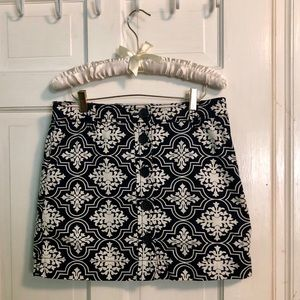 ADORABLE J. Crew mini skirt
